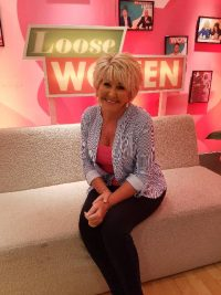 Maggie Oliver on the itv Loose Women set