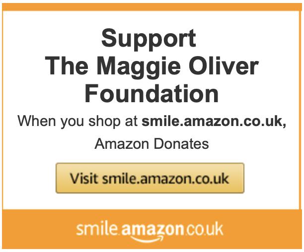 Maggie Oliver Amazon Smile Button